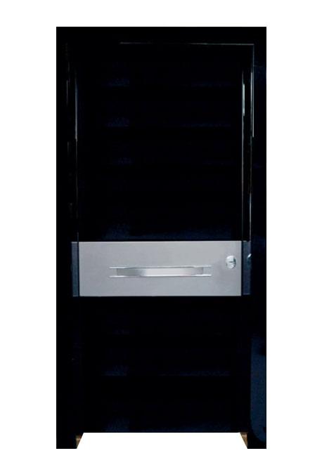 Usa de exterior securizata Testarossa-Black