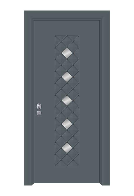 Usa exterior antiefractie linia aluminiu model SEC 4500
