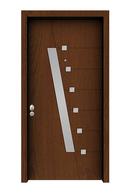 Usa exterior antiefractie linia aluminiu model SEC 4535