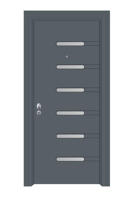 Usa exterior antiefractie linia aluminiu model SEC 4615