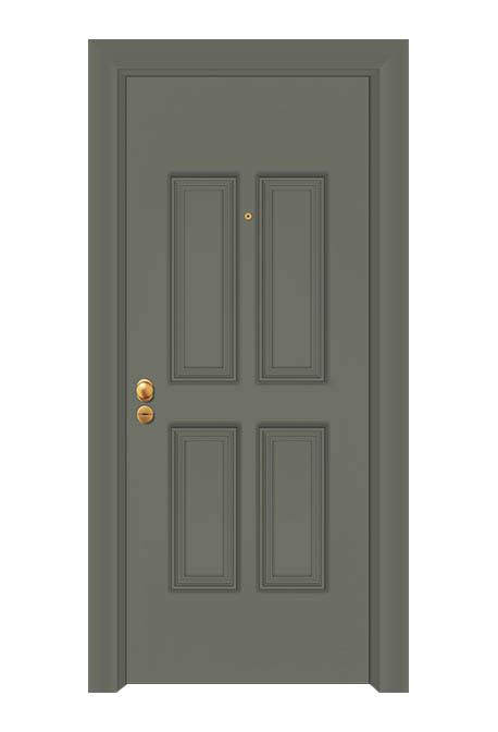 Usa exterior antiefractie linia aluminiu model SEC 5020