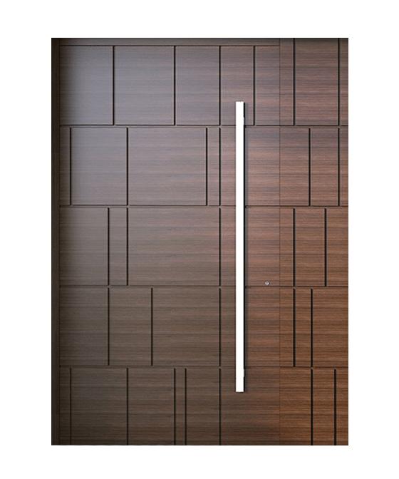 Usa exterior cu Rupere Termica 1018 Wood