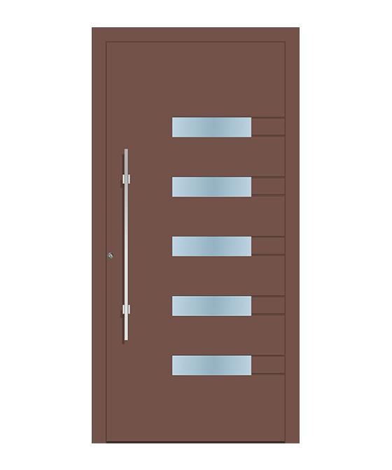 Usa exterior rupere termica profil 50 model 1180 - RAL 8025