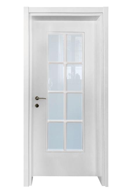 Usa interior finisaj alb lacuit model 9-min